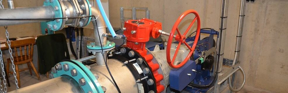 Commissioning Saddleworth hydro scheme