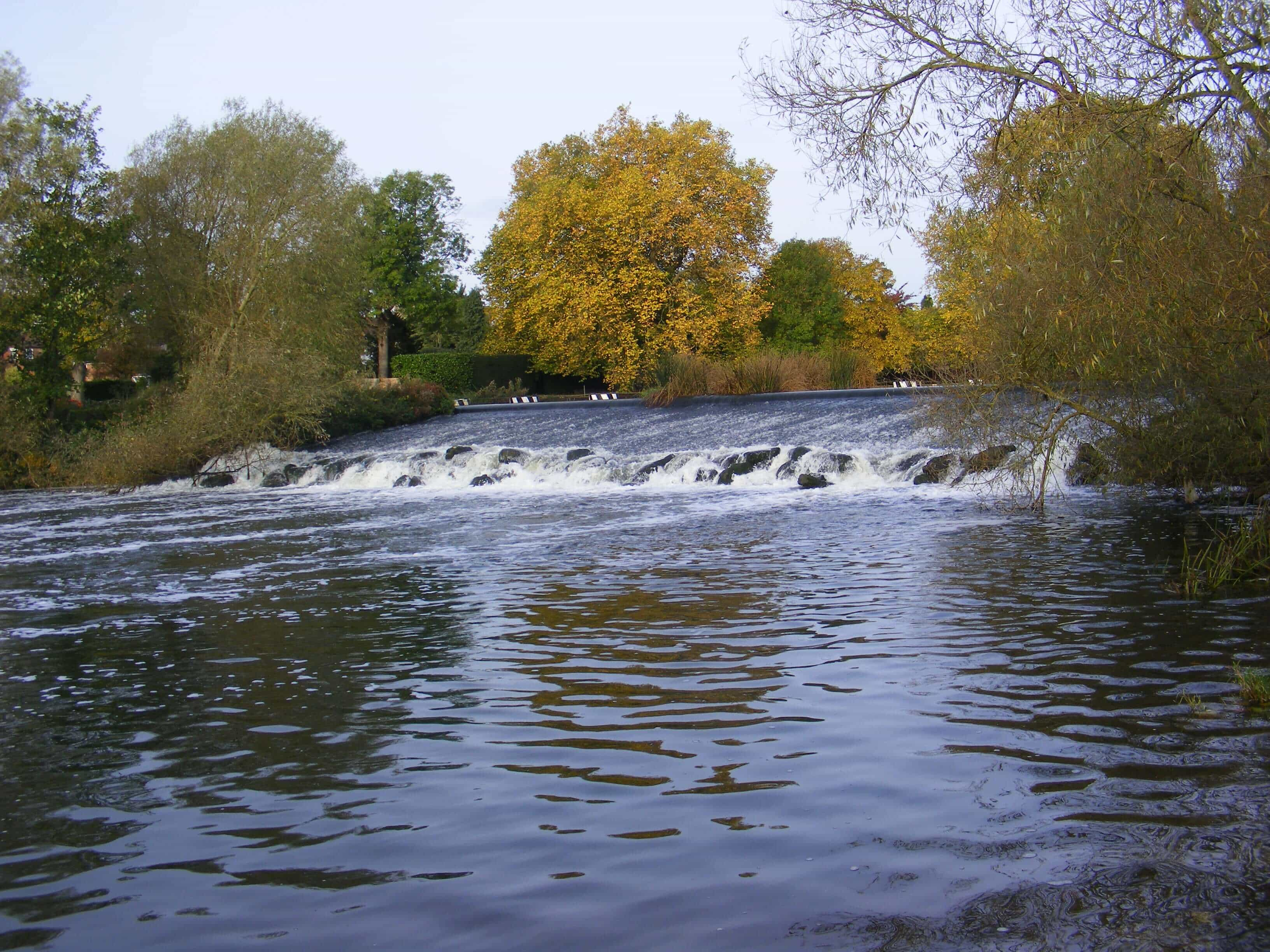 renewables first - archimedes screws for pershore weir