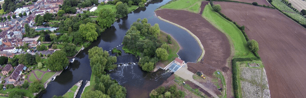 Hydro scheme commissioned at Pershore Weir
