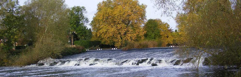 Archimedes Screws for Pershore Weir hydro scheme