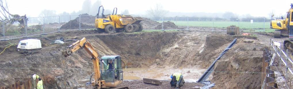 Pershore Weir hydro scheme commences