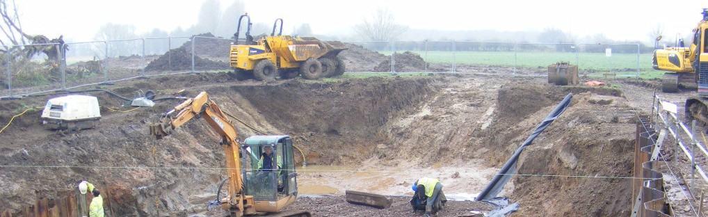 Pershore Weir hydro scheme commences