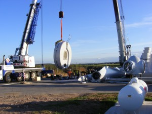 renewables first - lifting the wind turbine generator