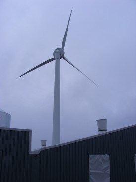 renewables first - Baulker Farm wind turbine installation