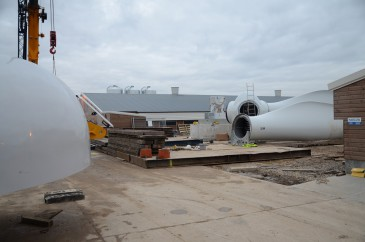 Renewables First - an EWT DW54 500 kW turbine