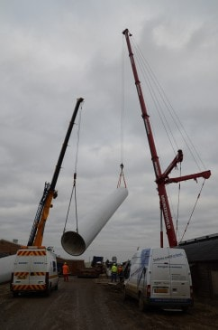 Renewables First - Hibaldstow wind turbine
