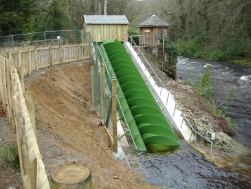 Renewables First - River Dart Country Park hydro scheme