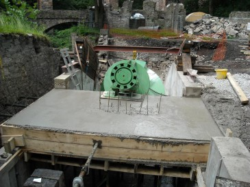 Renewables First - New Mills Archimedes screw