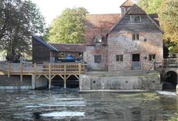 Mapledurham Watermill turbine
