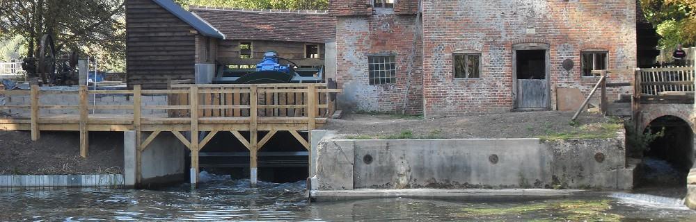 Case study – Mapledurham Watermill turbine on River Thames