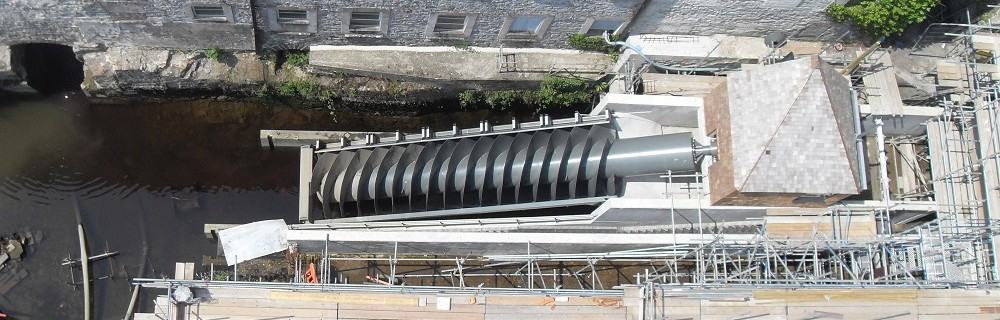 Case study: Archimedes screw turbine at Buckfast Abbey