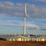 Baulker Farm - installed wind turbine