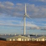 Baulker Farm - installed wind turbine