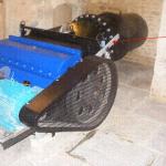 Figure 6 – Ossberger crossflow turbine installed in Wiltshire