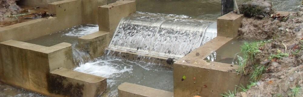 Miltons hydro scheme - Coanda screen for high head hydro scheme.