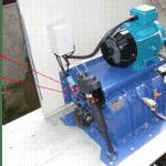 Figure 5 – Small Ecowave crossflow turbine installed in Sussex, UK
