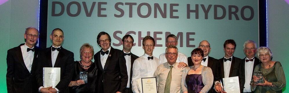 Institute of Civil Engineers Award 2015 for Saddleworth Hydro