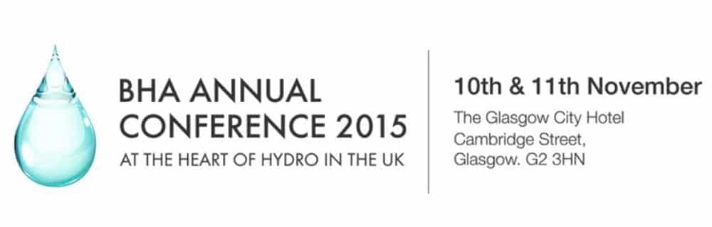 GoFlo attends British Hydropower Association 2015 Conference