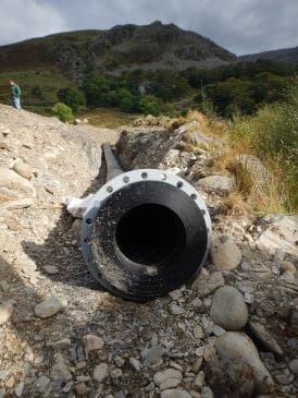 Nant Peris hydro 350 KW Pelton turbine - Renewables First