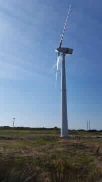 Renewables First - Norvento nED 100 turbine