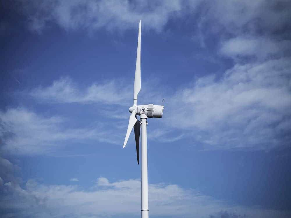 Norvento nED 100 turbine - Renewables First