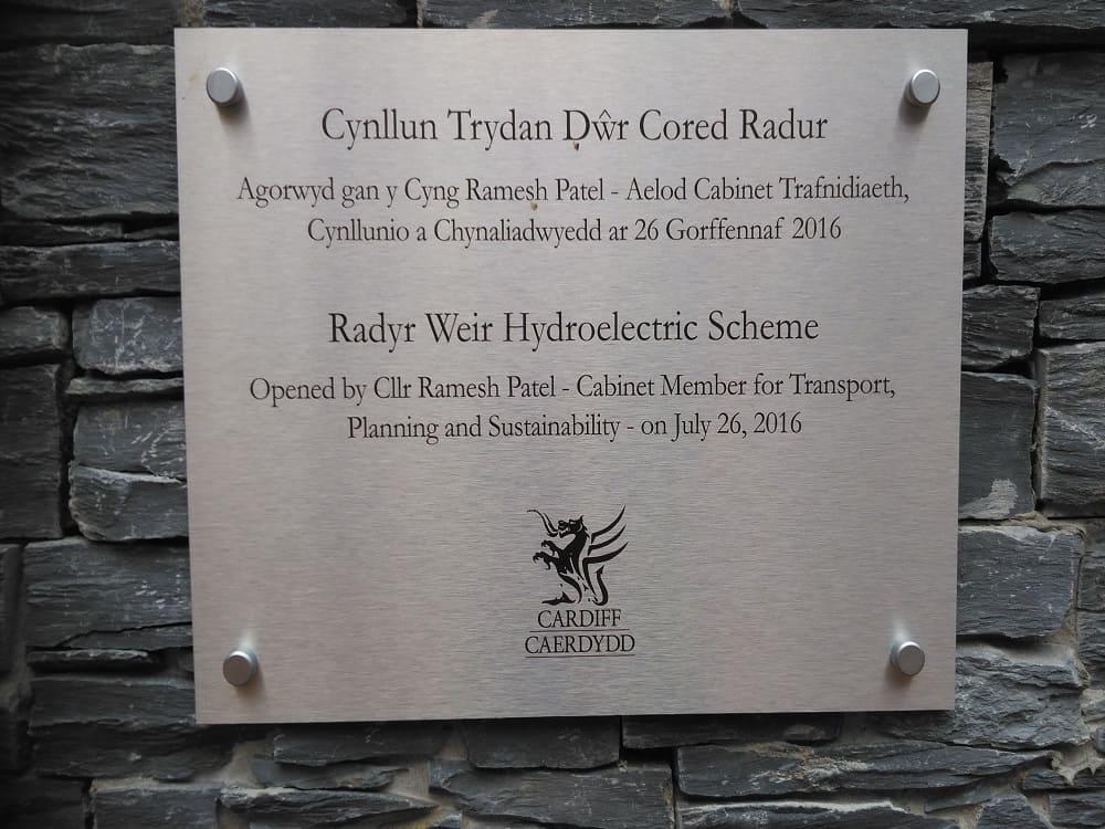 Radyr Weir hydropower scheme