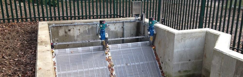 SElf-cleaning water intake screens - Renewables First