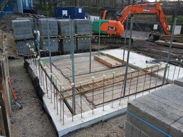Water Source Heat Pump - Plant Room Construction