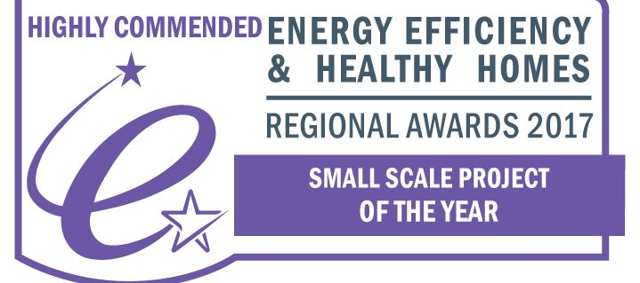"""Kenningstock hydro """"Highly Commended"""" at 2017 South West Regional Energy Efficiency Awards for GoFlo screen"""