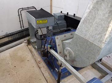 Kenningstock Mill crossflow hydro turbine