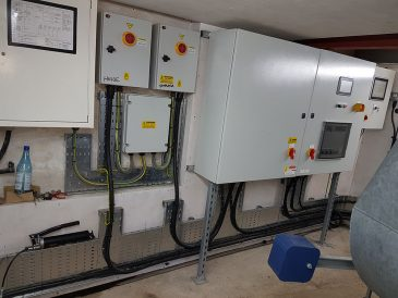 Control panels and electrical units