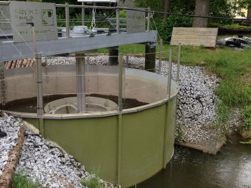 AquaZoom hydro installation