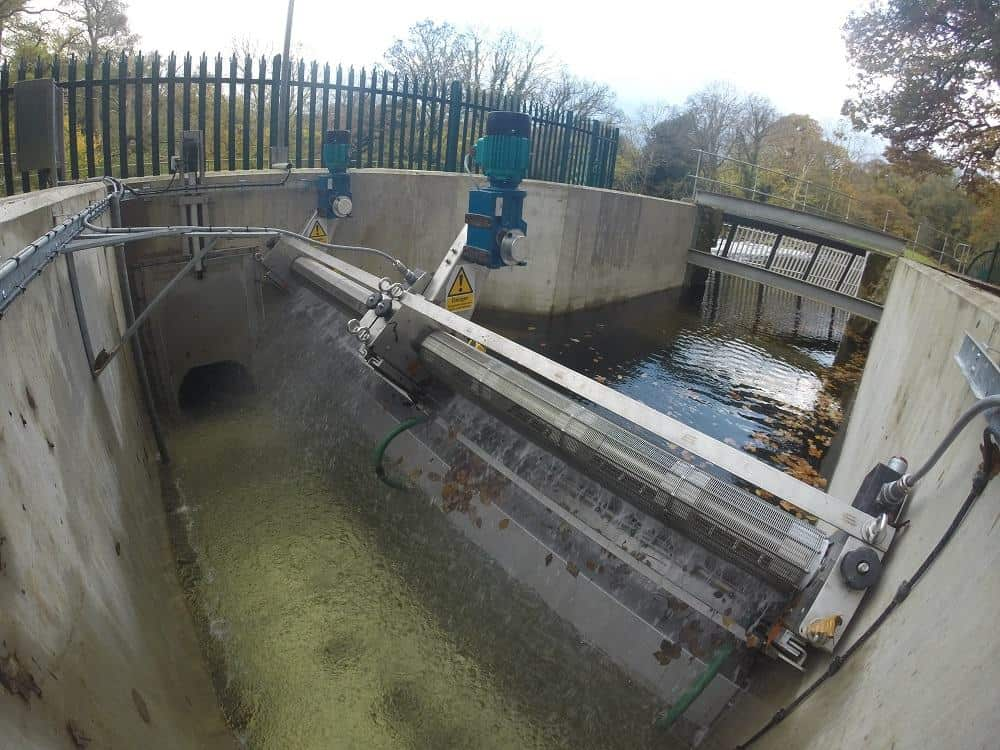 Dual GoFlo Screens at North Wales Hydropower Site