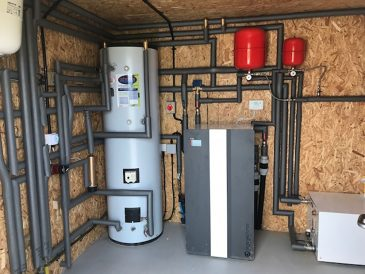 Water-source and ground-source heat pumps are physically the same – it's just the heat source that is different
